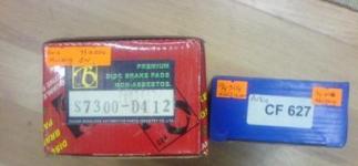 ford mustang yedek parça- 1994-2004 ford mustang ön arka balata